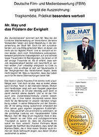 Filmbewertung 'Mr. May'
